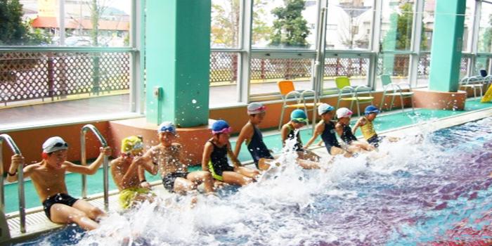 プール 温水